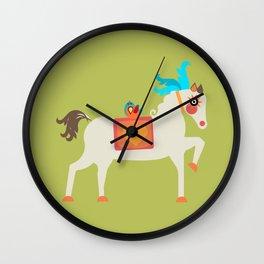 Mr. Horse Wall Clock