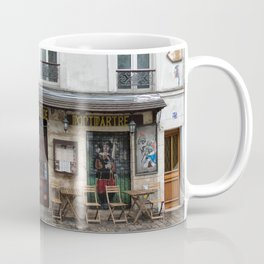 Cafe in Monmartre Paris Coffee Mug