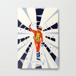2001 Space Odyssey II Metal Print