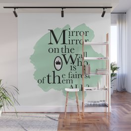 Mirror Mirror - Snow White Inspired Wall Mural