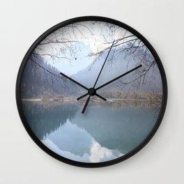 Issyk Lake, Kazakhstan Wall Clock