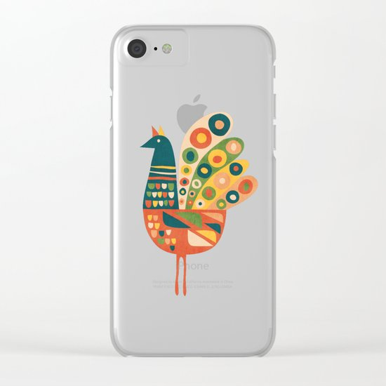 Century Hen Clear iPhone Case