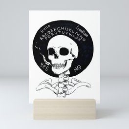 Smokers Devil Mini Art Print