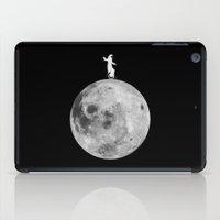 lunar iPad Cases featuring Lunar balance by Tony Vazquez