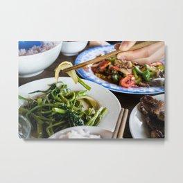 Asian Food 06 Metal Print