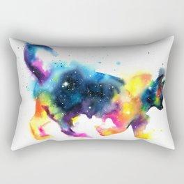 Cat galaxy Rectangular Pillow