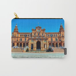 Plaza del Rey Carry-All Pouch