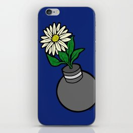 Flower-bomb iPhone Skin