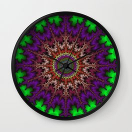 Fractal Disc Wall Clock