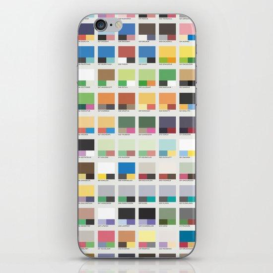 Poke-Pantone 5 (Unova Region) iPhone & iPod Skin