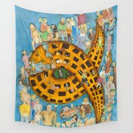 Torrid Yellow House / Casa Amarela Tórrida Wall Tapestry
