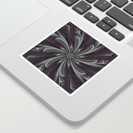 Out of the Darkness Fractal Bloom Sticker