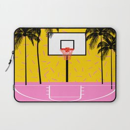 Dope - memphis retro vibes basketball sports athlete 80s throwback vintage style 1980's Laptop Sleeve
