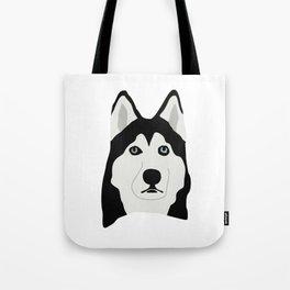 Alaskan Malamute Dog Tote Bag