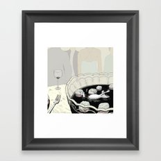 A Rat in a Punch Bowl Framed Art Print