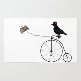 Lazy Raven Rug