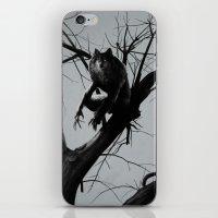werewolf iPhone & iPod Skins featuring Werewolf by Alex Perkins