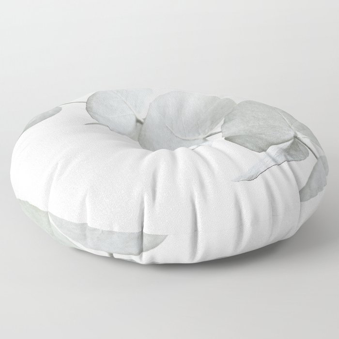 EUCALYPTUS WHITE 3 Floor Pillow