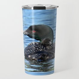 Sleepy time baby loon Travel Mug