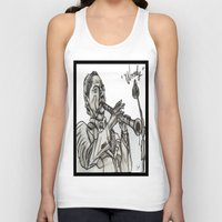 woody Tank Tops featuring WOODY by TATTZ4CARZ