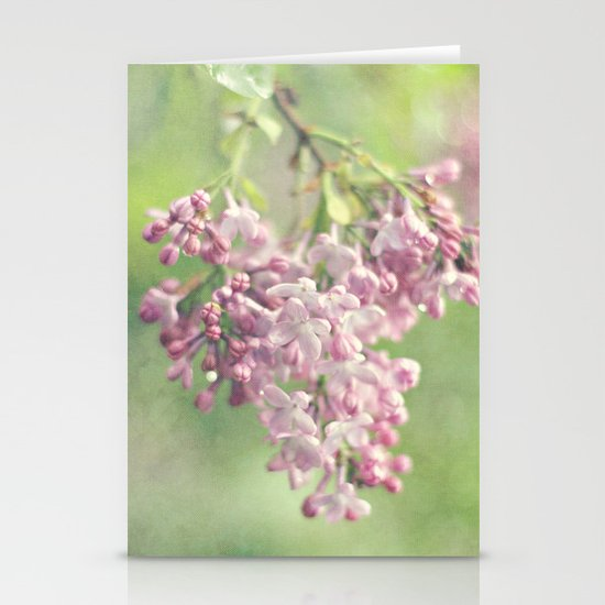 the smell of spring Stationery Cards