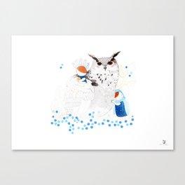 Mamma Owl Canvas Print