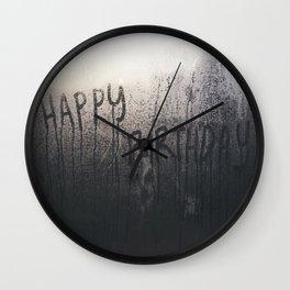 Little memory - Happy Birthday Wall Clock