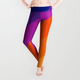 Simple Stripes - Sapphire Leggings