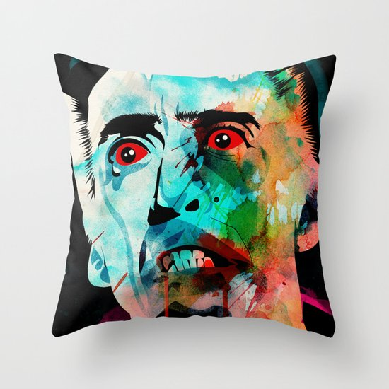 bloodsucker Throw Pillow