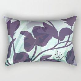 Sassy Sedge - cool colors Rectangular Pillow