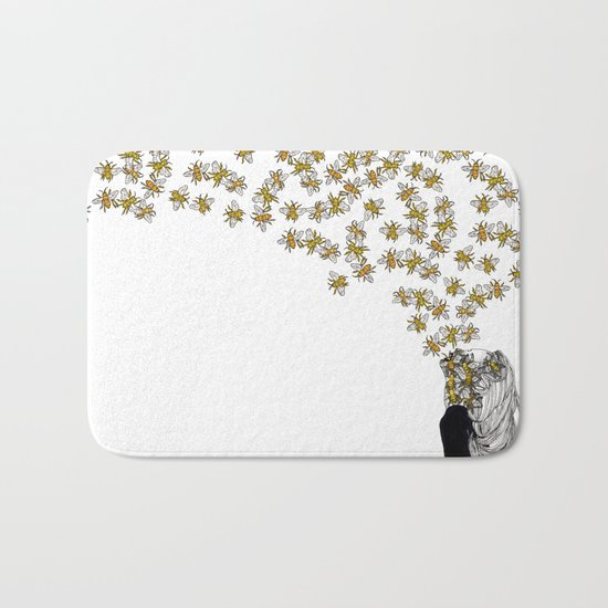 The Arrival of the Bee Box Bath Mat