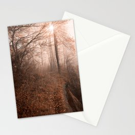 Misty Sun Kissed Trail Stationery Cards