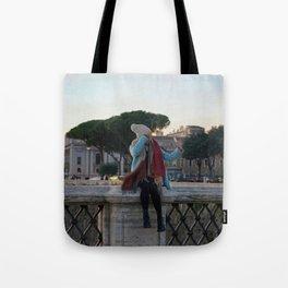 Selfie in Rome Tote Bag