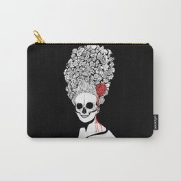 Skull and flower Carry-All Pouch