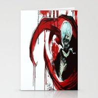 tokyo ghoul Stationery Cards featuring Tokyo Ghoul - Kaneki Ken by IzaPug