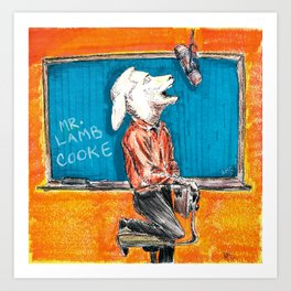 Lamb Cooke Art Print