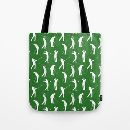Golfers on the Fairway Tote Bag