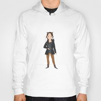 katniss Hoodies featuring Katniss by Aprilled