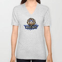 TWRP Commander Meouch (Wild Cats) Unisex V-Neck