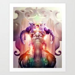 The Wicked Queen Art Print