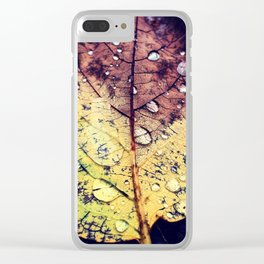 Colors of Rain Clear iPhone Case