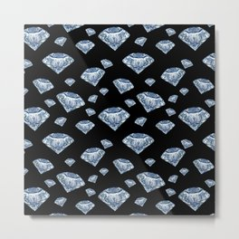 Diamond rain Metal Print