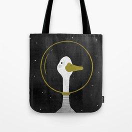 Space Goose Tote Bag