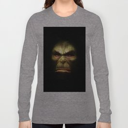 Orc face Long Sleeve T-shirt