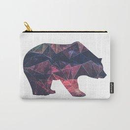 Bear - Geometric Galaxy Carry-All Pouch