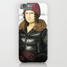 Mona Lisa in winter iPhone 6s Slim Case