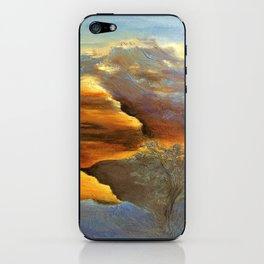 CLIMBING UP iPhone Skin
