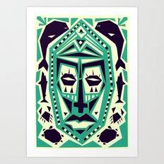 Master of the seas Art Print