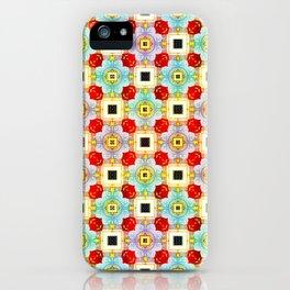 Embellecimiento Pattern iPhone Case