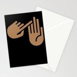 Petoskey Michigan Hand Map Stationery Cards